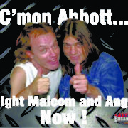 Malcom and Angus Young